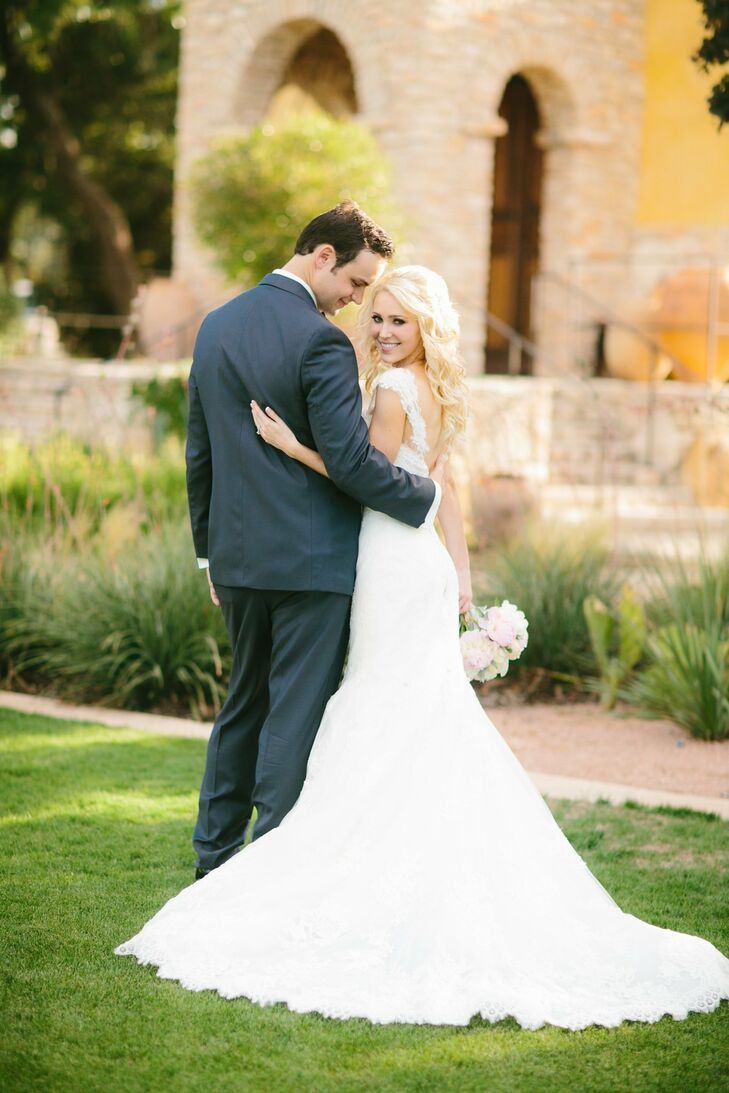 Jillian and David married in a rustic-meets-elegant celebration held in the heart of Texas Hill Country.