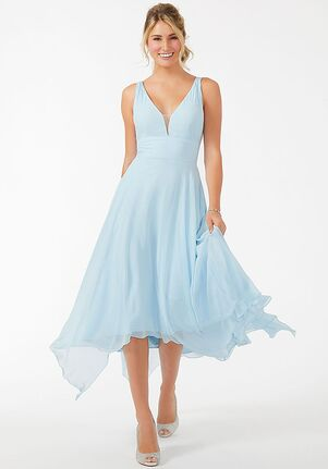 Morilee by Madeline Gardner Bridesmaids 21701 - Morilee by Madeline Gardner Bridesmaids V-Neck Bridesmaid Dress