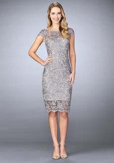 La Femme Evening 24861 Grey Mother Of The Bride Dress