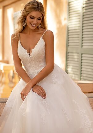 Moonlight Collection J6801 A-Line Wedding Dress