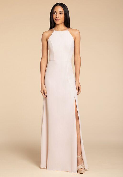 Hayley Paige Occasions 5918 Bateau Bridesmaid Dress