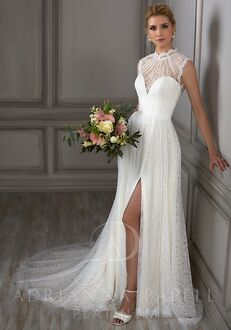 Adrianna Papell Platinum Juliet A-Line Wedding Dress