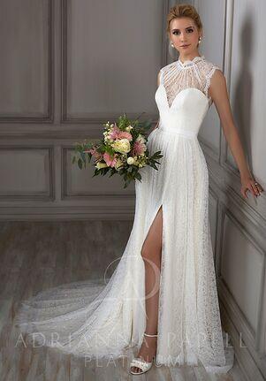 Adrianna Papell Platinum Juliet A-Line Wedding Dress