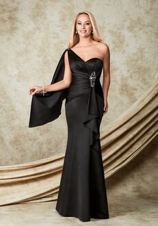1 Wedding by Mary's Modern Maids M1506 One Shoulder Bridesmaid Dress