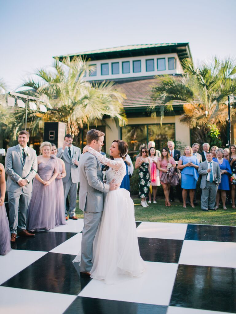 Backyard Wedding Ideas Unique Dancefloor