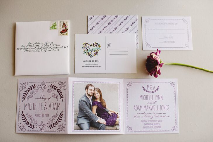 Rustic Whimsical Wedding Invitations