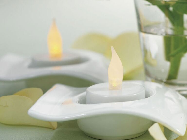 Affordable battery powered tea lights