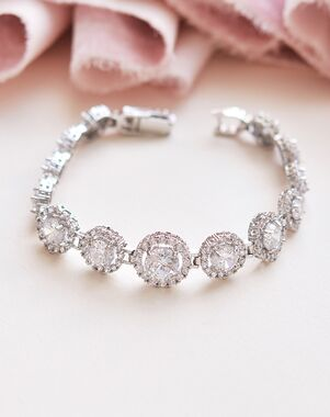 Dareth Colburn CZ & Pavé Bracelet (JB-1542) Wedding Bracelet photo