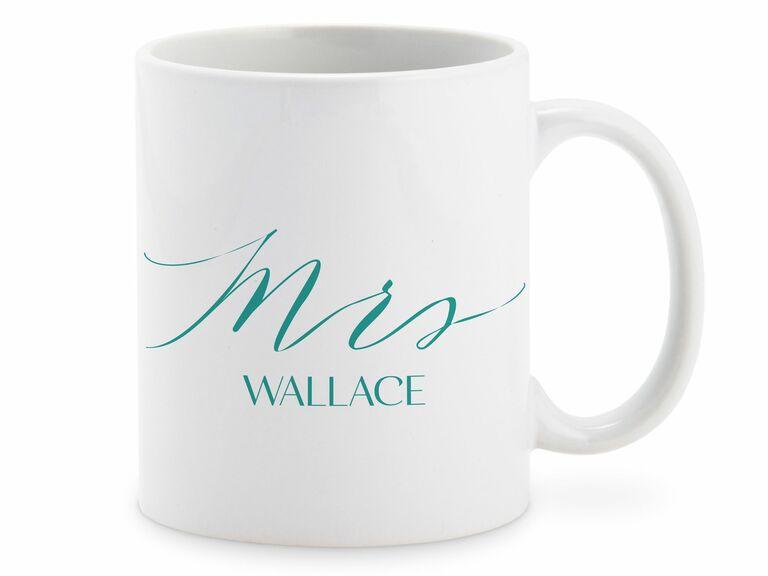 Mrs. mug romantic gift for wife