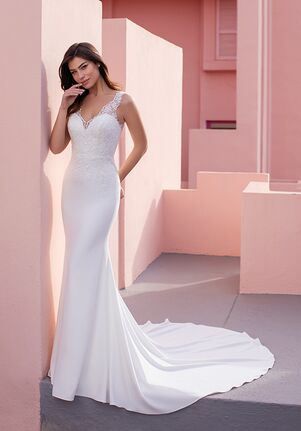 WHITE ONE ESSENTIALS CONEFLOWER Mermaid Wedding Dress