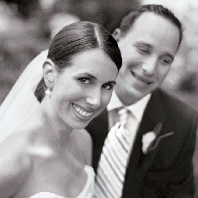 """Melissa and Brian first met as undergrads at Union College when her sorority and his fraternity co-sponsored a youth olympiad. """"It was one of those in"""