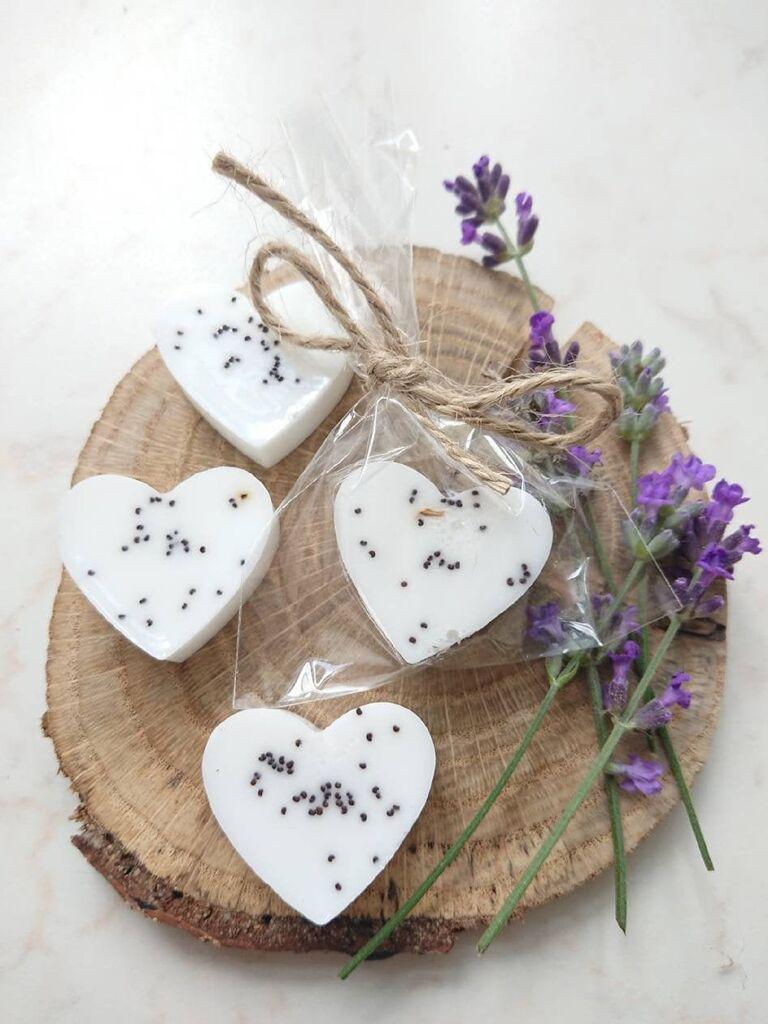 Affordable soap wedding favors