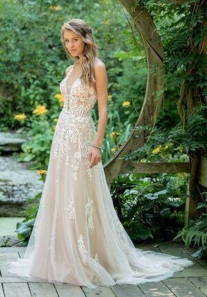 Lillian West 66010 A-Line Wedding Dress