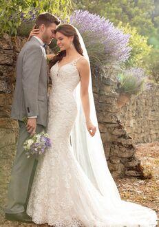 Essense of Australia D2452 Mermaid Wedding Dress