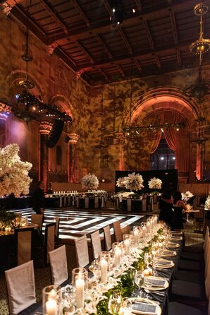 Glamorous Art Deco Wedding Reception at Cipriani 42nd Street in New York City