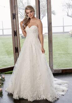 Casablanca Bridal 2418 Caroline A-Line Wedding Dress
