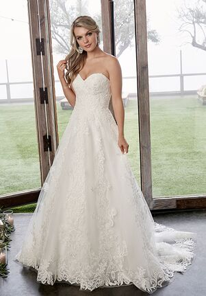 Casablanca Bridal 2418 Caroline A-Line Wedding Dress