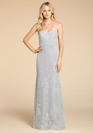Hayley Paige Occasions 5907 Strapless Bridesmaid Dress