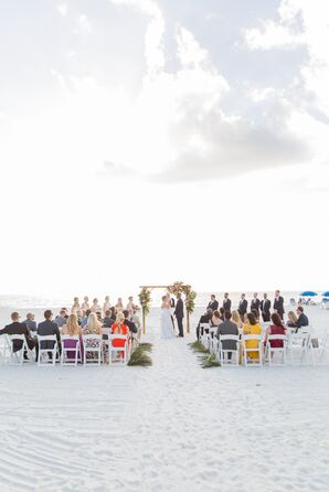 Tropical Sunset Ceremony at Marco Beach Ocean Resort