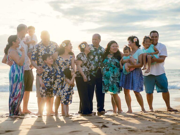 Family anniversary vacation