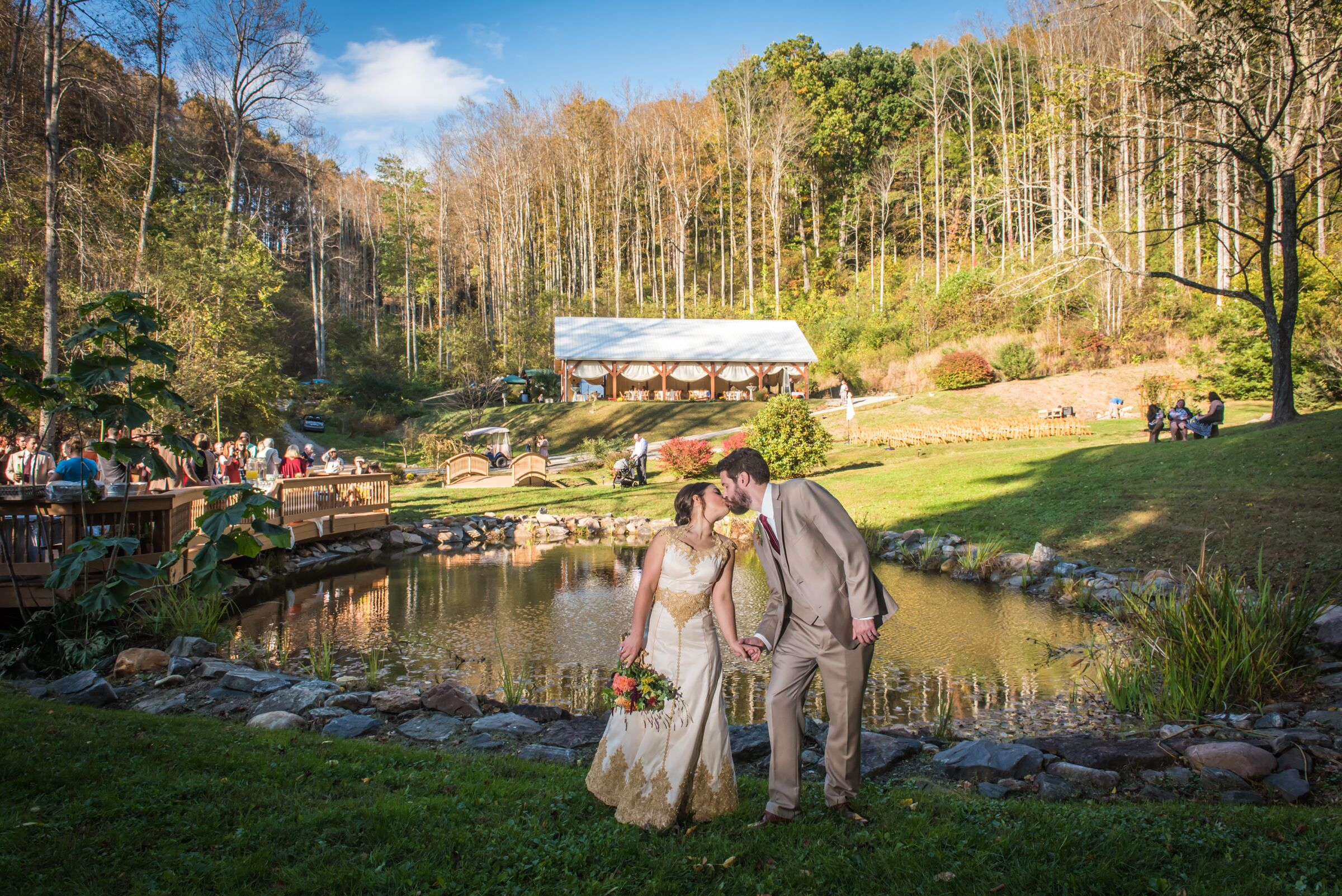 Wedding reception venues in asheville nc the knot brahma ridge event center junglespirit Image collections