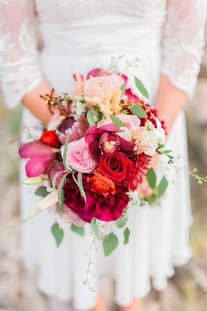 Dramatic DIY Bridal Bouquet