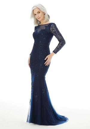 MGNY 72225 Blue Mother Of The Bride Dress
