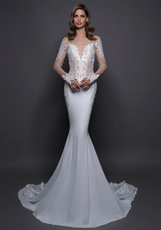 LOVE by Pnina Tornai for Kleinfeld 14593 Sheath Wedding Dress