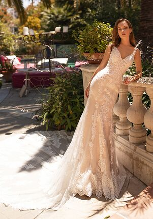 Moonlight Couture H1431 Mermaid Wedding Dress