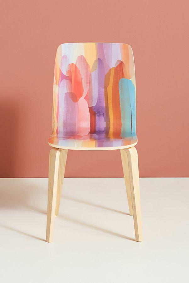 watercolor chair