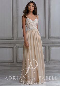 Adrianna Papell Platinum 40122 Sweetheart Bridesmaid Dress