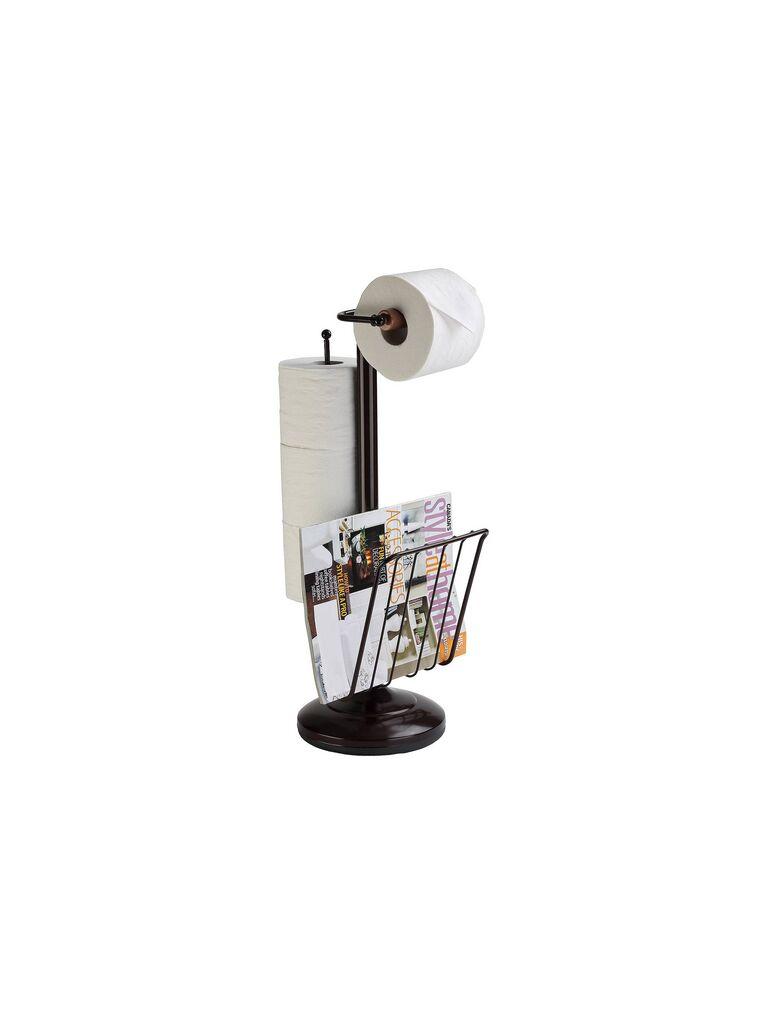 Bronze Toilet Caddy registry gift