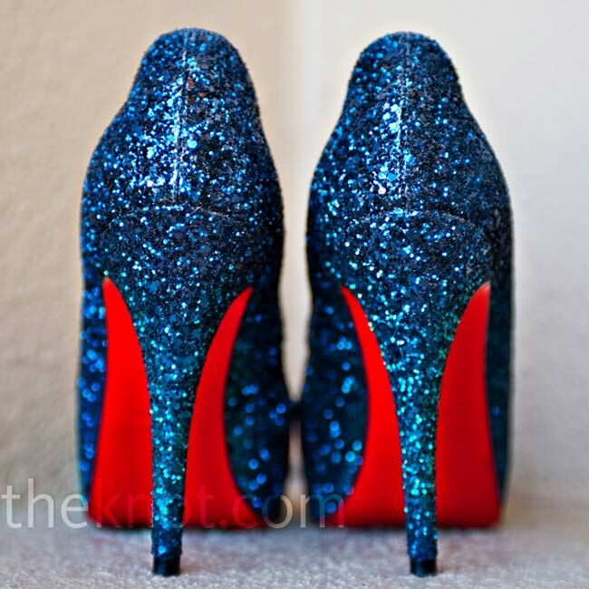 31c0f822c21 Navy Bridal Shoes