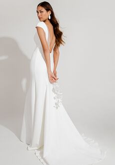 Jenny by Jenny Yoo Gretchen Sheath Wedding Dress