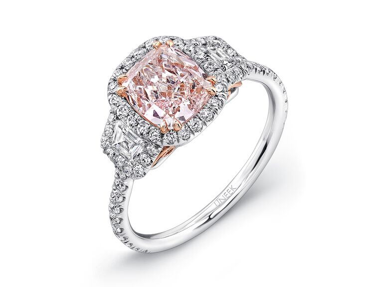 oval diamond light ori certified engagement details peach sapphire rings gia pink morganite ring