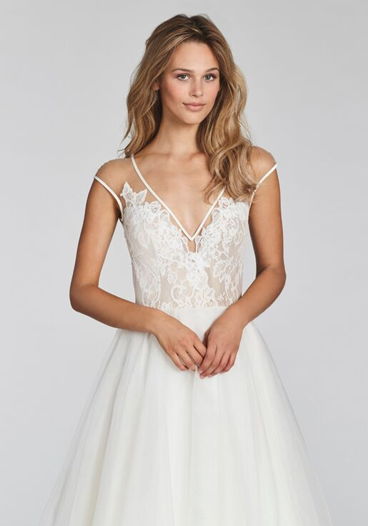 b9791d4ff33ea Blush by Hayley Paige Val-1703 Wedding Dress | The Knot