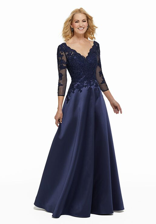 MGNY 72012 Champagne Mother Of The Bride Dress