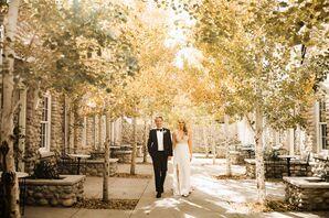 Wedding Portraits at Surf Hotel in Buena Vista, Colorado