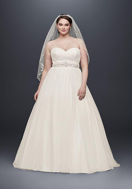 David\'s Bridal David\'s Bridal Collection Style 9WG3802 Wedding Dress ...