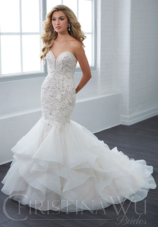 10abf32d64 Christina Wu 15662 Wedding Dress - The Knot