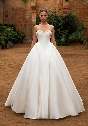 ZAC POSEN FOR WHITE ONE HEIDI Mermaid Wedding Dress