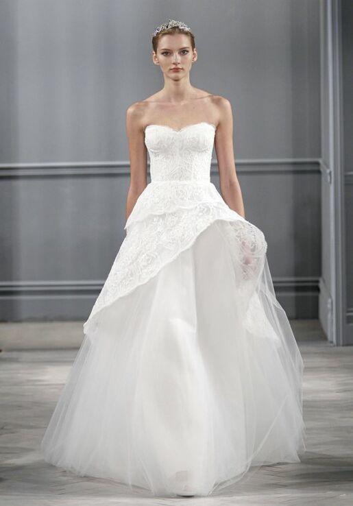 Monique Lhuillier Azure Wedding Dress - The Knot