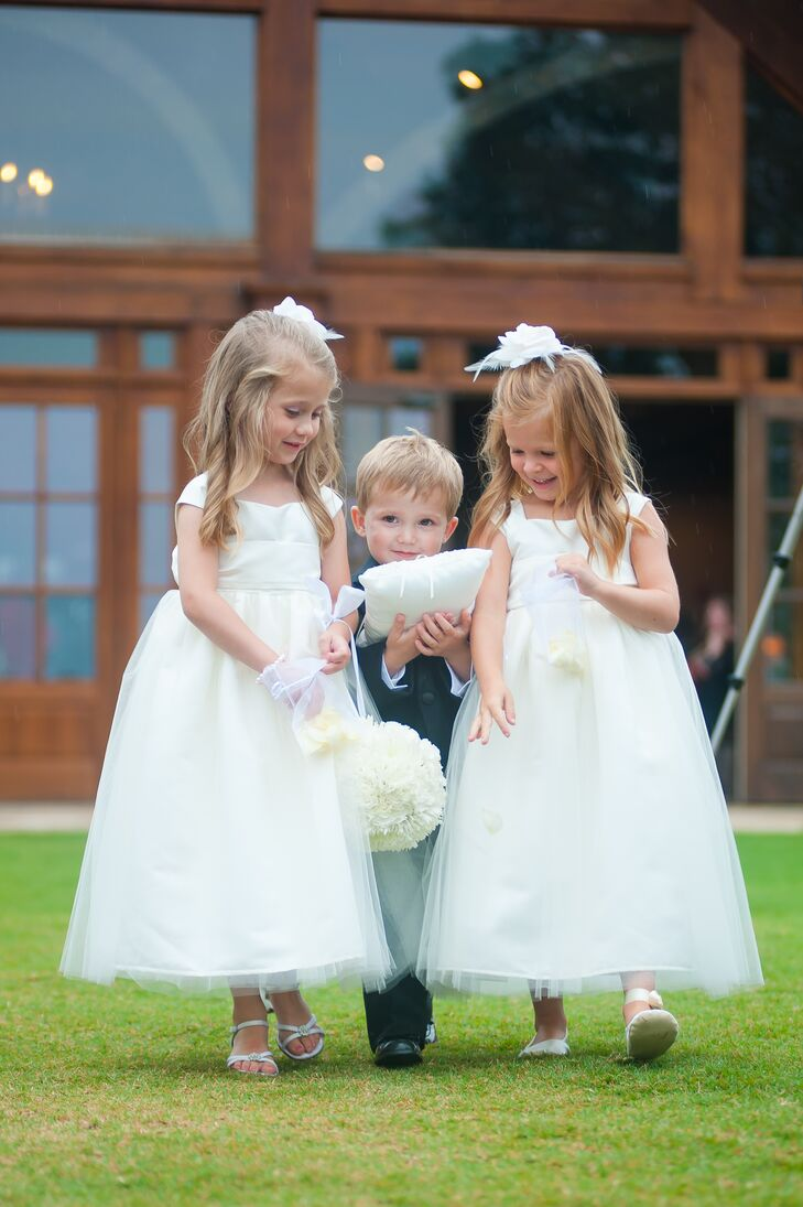 Adorable Tulle Flower Girl Dresses