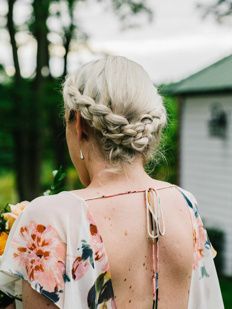 Wedding Hairstyles Braid Crown