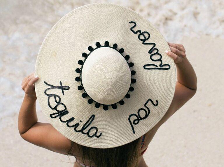 Hats by Olivia Tequila Por Favor women's floppy sun hat