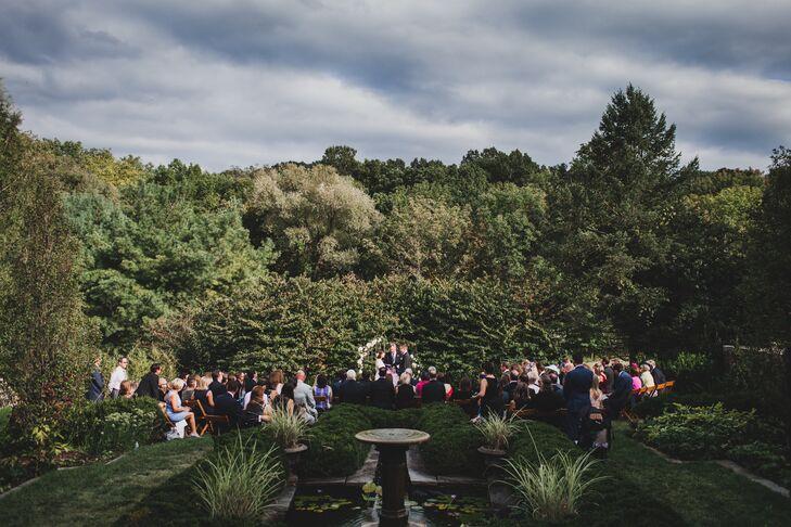 Garden Ceremony at Jardin De Buis