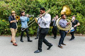 Live Hip-Hop Brass Band Processional