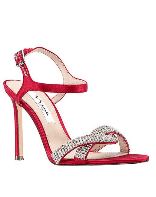 Nina Bridal Davia Red Shoe