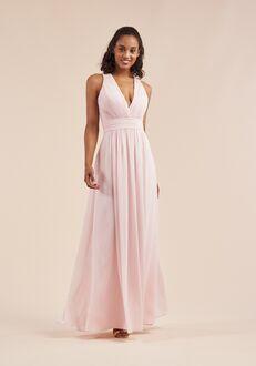 B2 Bridesmaids by Jasmine B213056 V-Neck Bridesmaid Dress