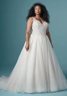 Maggie Sottero TAYLOR LYNETTE Ball Gown Wedding Dress